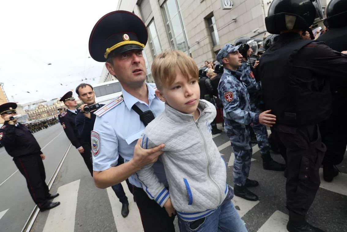 Усиление полицейского гнёта в России