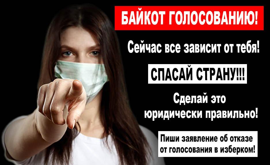 Байкот путинскому голосованию