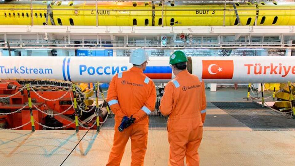 Турция останавливает работу газопроводов