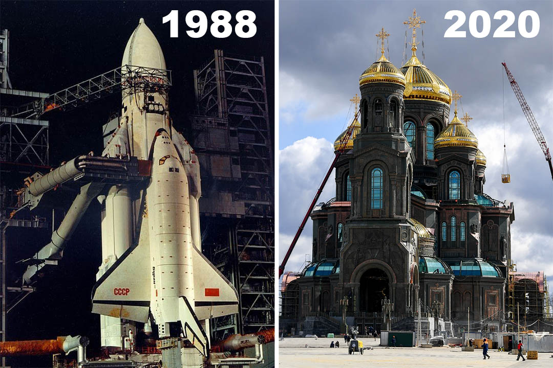 Народу - кризис, а РПЦ - новые храмы