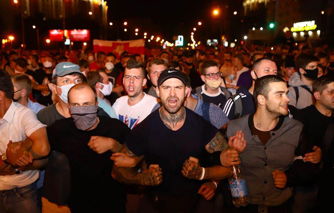 Белоруссия: акции протеста по всей стране