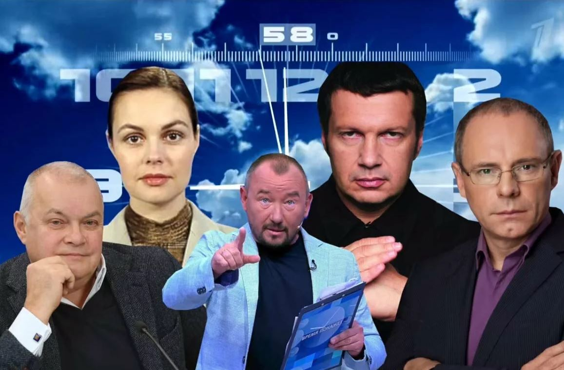Кремль усиливает свою пропаганду на телевидении