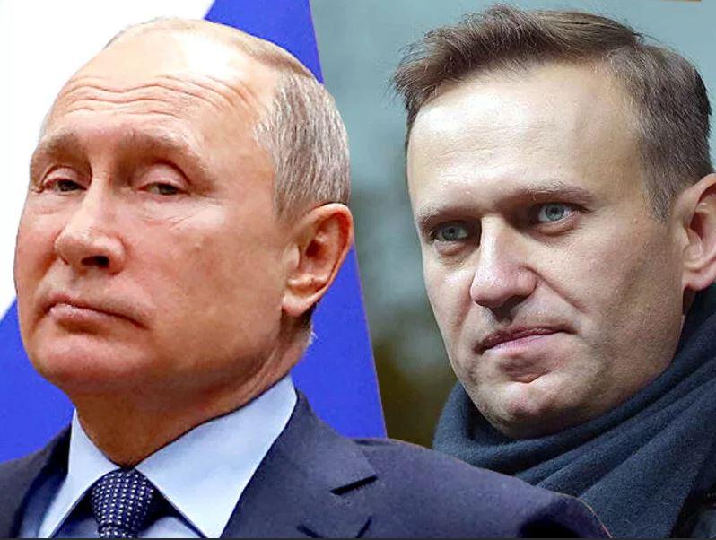 Навальный главный враг Путина в глазах Запада