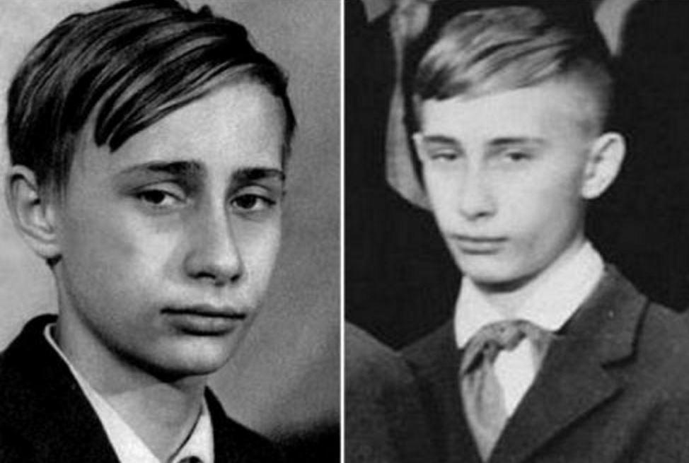 А был ли Путин пионером