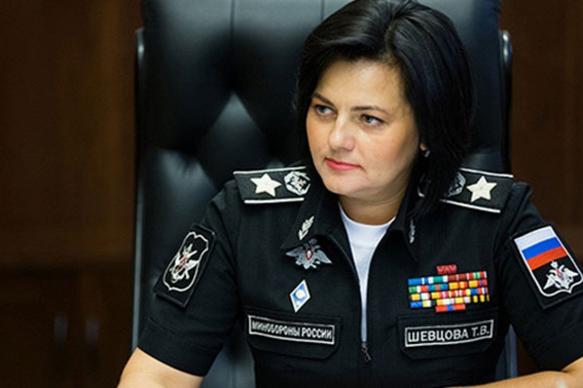 девочка генерал Шевцова