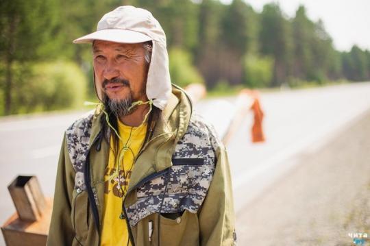 Шаман Александр Габышев идет в Москву изгонять Путина